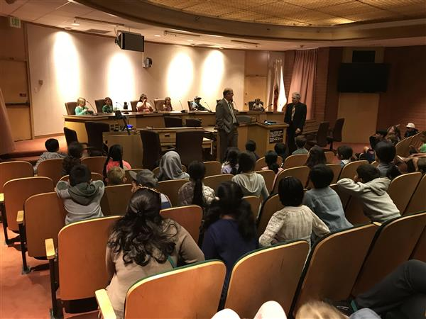 students take over city council chambers