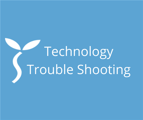 Technology Trouble Shooting