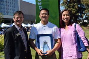 Alex Ha recognized as educator of the year