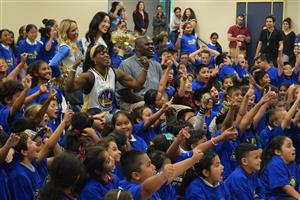 Read to Achieve assembly pumps kids up about reading