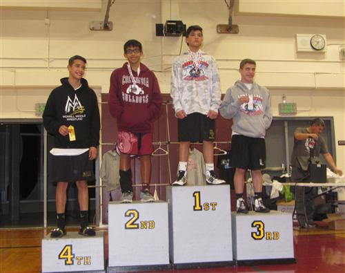 Columbia Middle student Branden Bulatao finished first in League finals, first in Sectionals, and second in County.