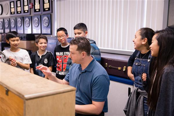 Columbia Middle School teacher overseeing growing music program