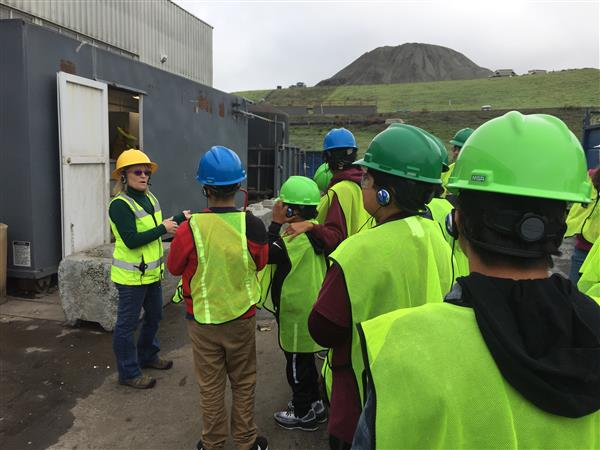 CMS Students Visit SMART Center