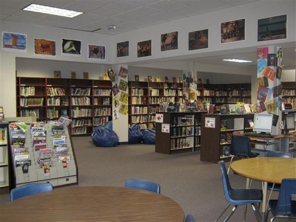 Sunnyvale Middle library