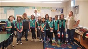 girls scouts propose bringing refillable water stations to Fairwood