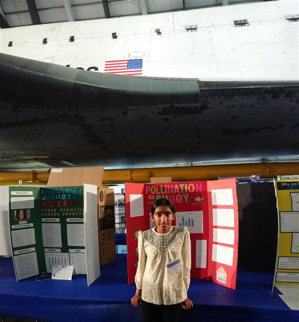 Sunnyvale Middle School student advanced to state science and engineering fair