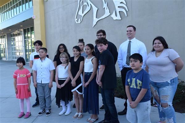 students recognized for overcoming different kinds of hardships
