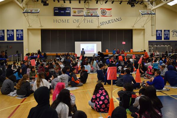 SMS SEVENTH GRADERS EXPERIENCE GLOBAL POVERTY AT SECOND ANNUAL HUNGER BANQUET