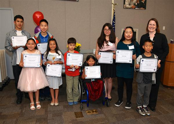 Bishop's Giselle Guardado recognized at Every Student Succeeding Event